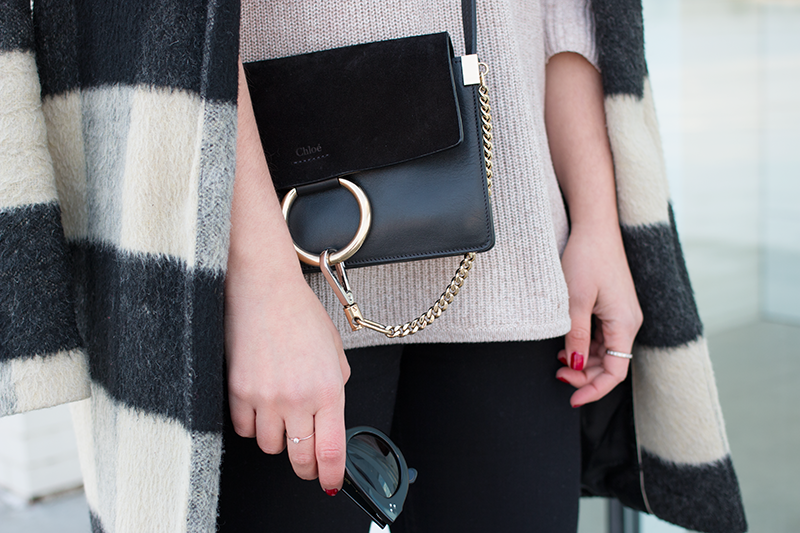 How to accessorize casual, oversized layers