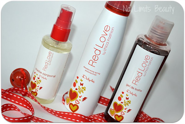 Novedades Mercadona: set Red Love by Chica Fashion (Deliplús)