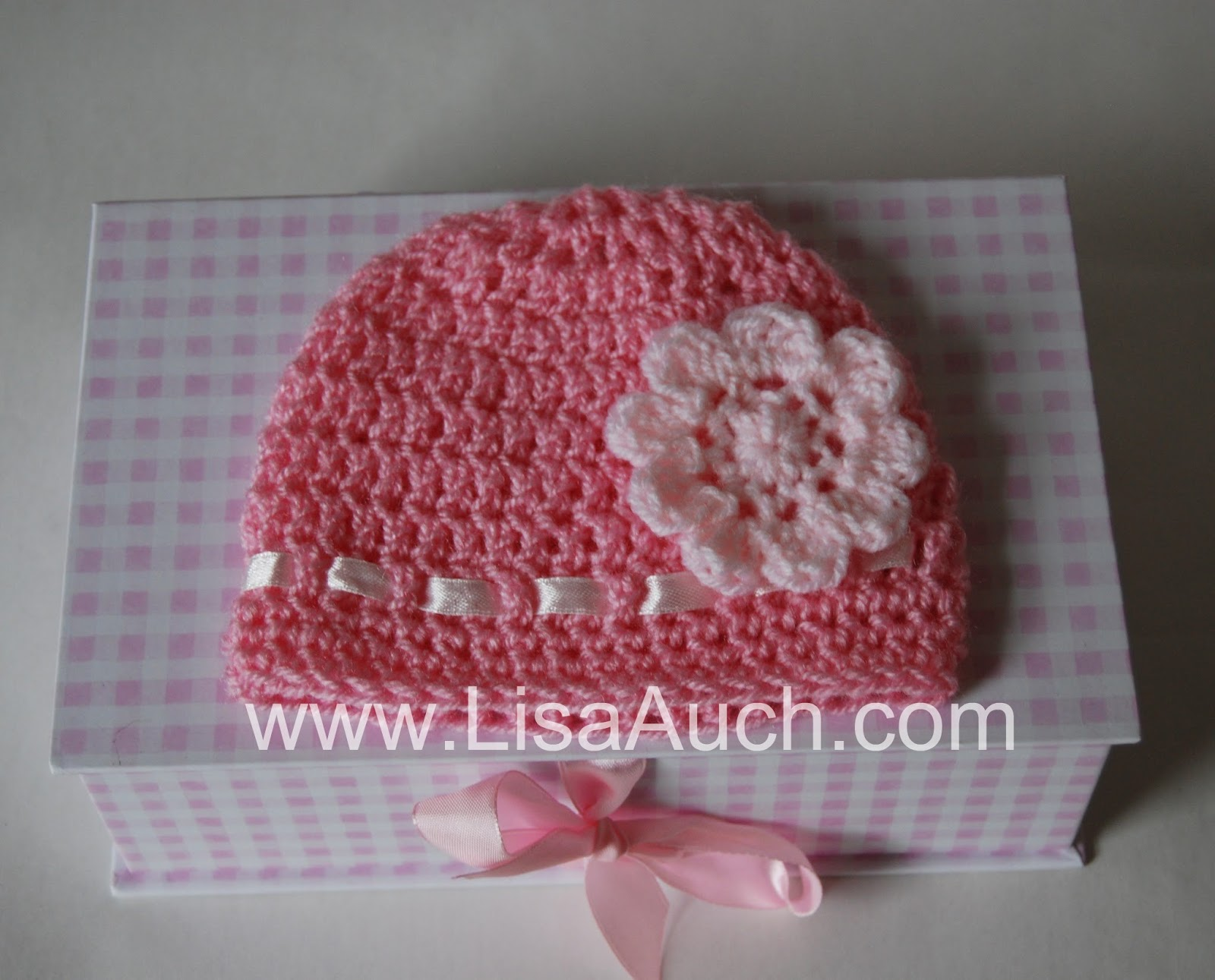 Crochet Pattern Newborn Girl Hat : how to crochet a baby hat ideal for beginners {with step