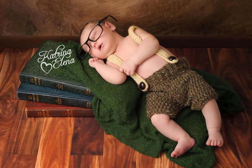 #16 Baby Hobbit - 22 Geeky Newborns Who Are Following In Their Parents' Nerdy Footsteps