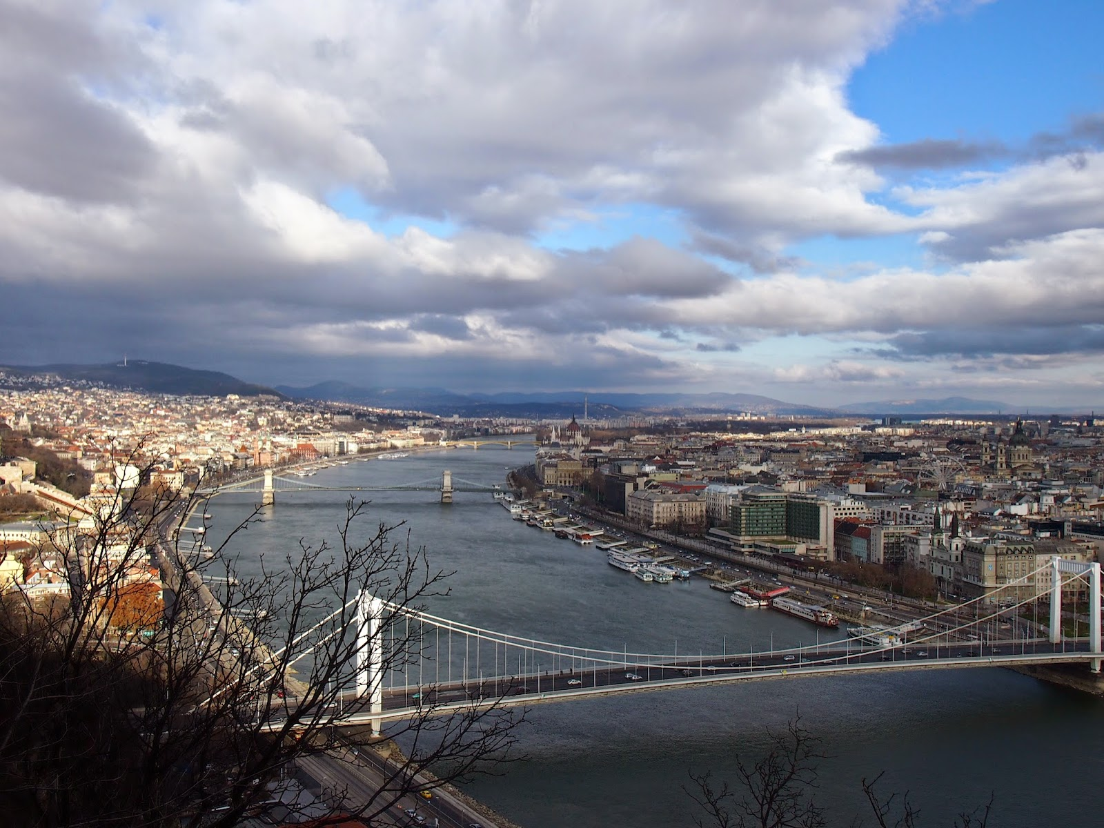 Buda, Pest, and the Danube River