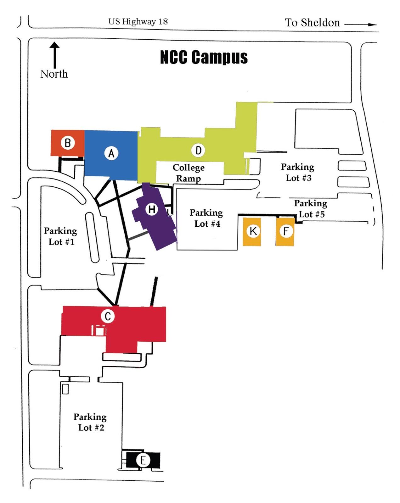 Ecc City Campus Map Www Topsimages Com