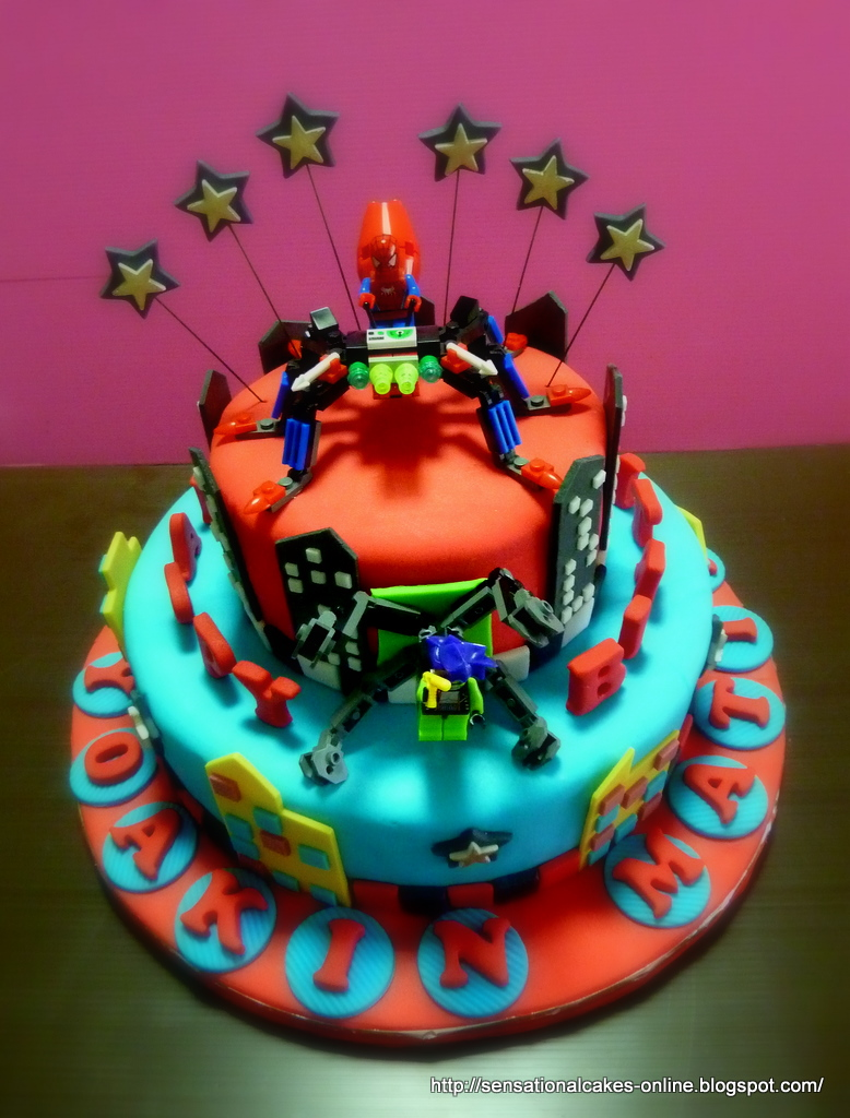 The Sensational Cakes New Spider Man 2 Tier 3d Cake Doc Octopus