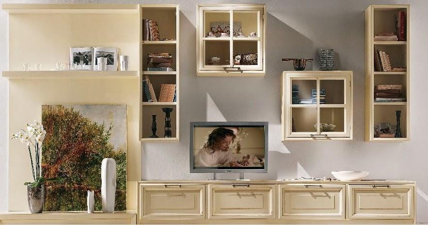 Filmap la parete attrezzata nel classico for Pareti attrezzate economiche