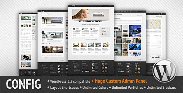 Image for Config – Multipurpose Theme by ThemeForest