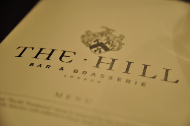 The+Hill+Bar+and+Brasserie+Haverstock+Hill+review+menu
