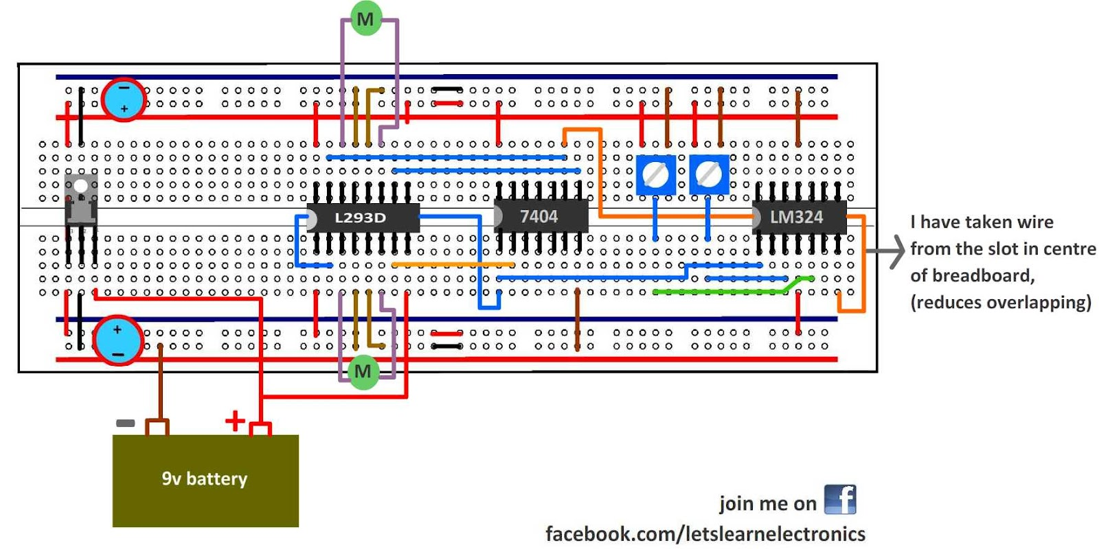 Wireless Communication Setting Up Simple Step 3 Learn Electronics By Building Circuits From Circuit Diagrams Lets