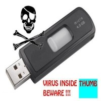 remove virus from usb pen drive