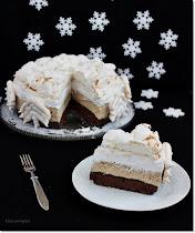 Karácsonyi torták, krémes sütemények.