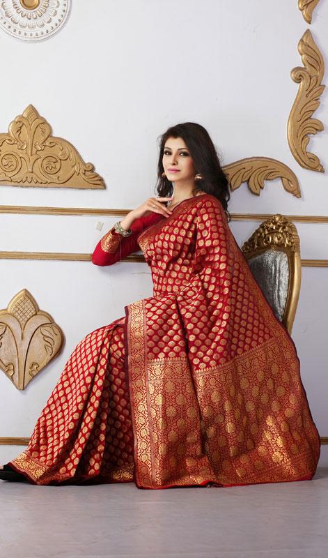 how to wear saree in gujarati style