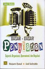 toko buku rahma: buku DASAR-DASAR PENYIARAN, pengarang hidajanto djamal, penerbit kencana