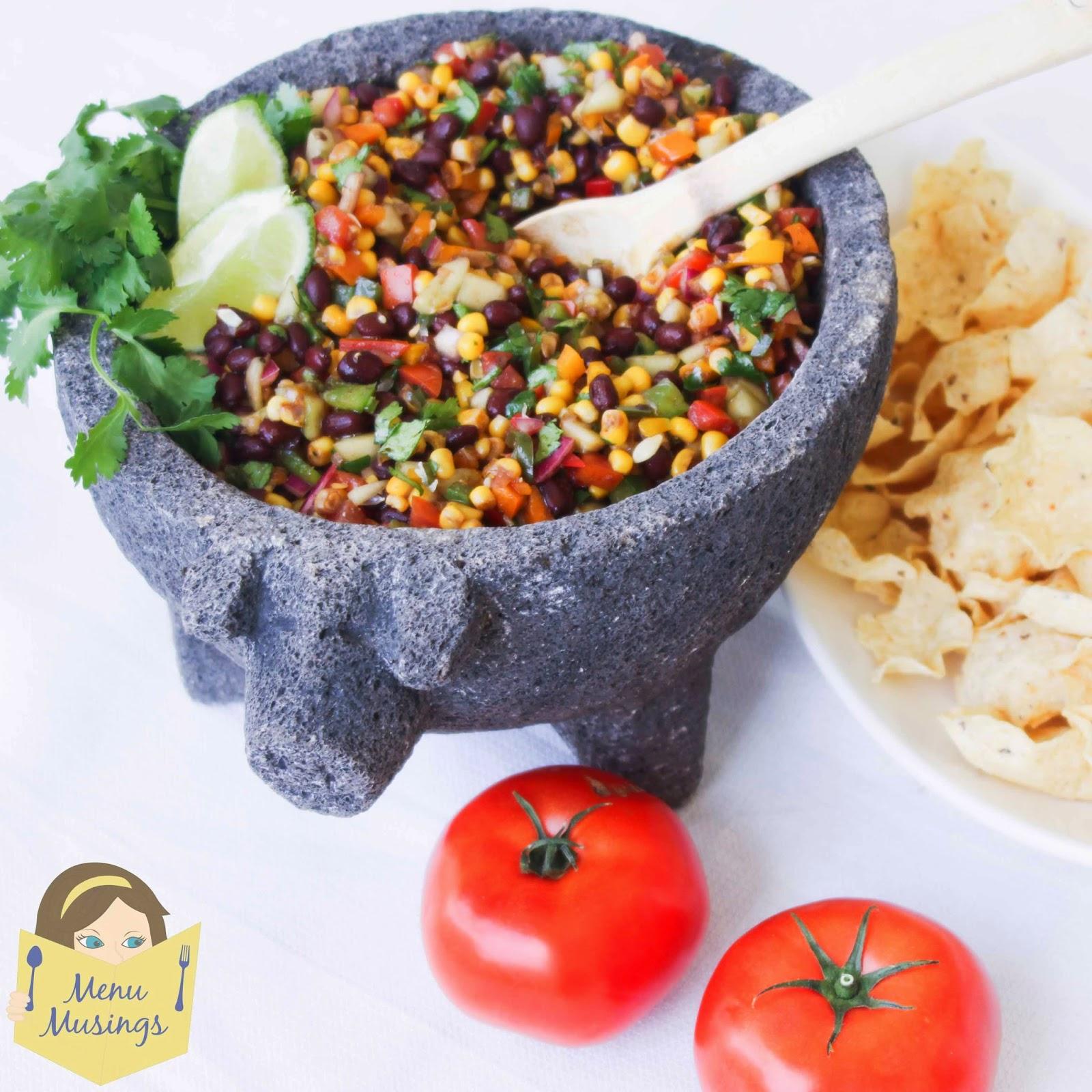 Black Bean and Corn Salsa - menumusingsrecipes