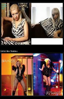 info 5 stars - lady gaga copy shakira