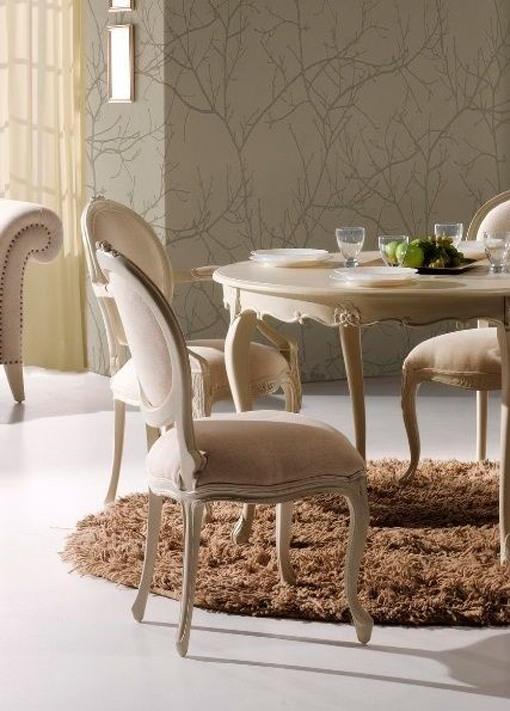Marzua reinterpretaciones de las sillas estilo luis xvi for Juego de dormitorio luis xvi