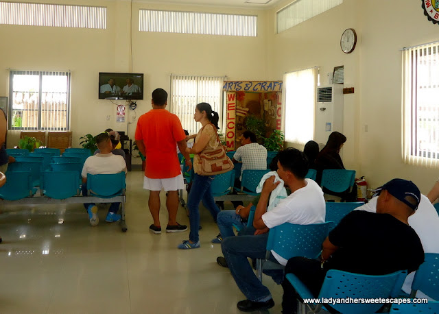 Loboc River Cruise' waiting area