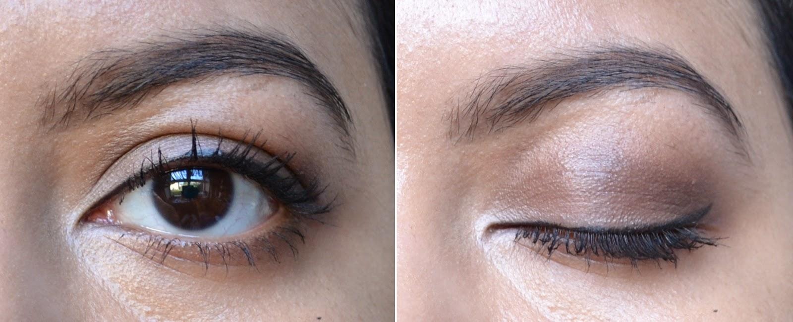 Clarins Eye Quartet Mineral Palette in Skin Tones Swatches - Aspiring Londoner