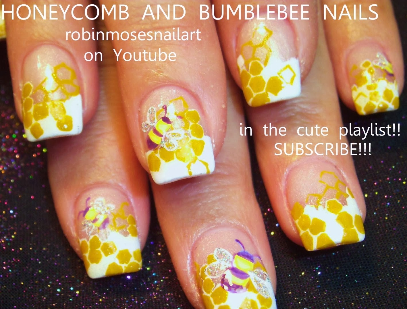 Robin moses nail art pastel leopard print queen bee design nail art hot party girl nails sexy nails prinsesfo Images