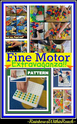 photo of: Fine Motor Extravaganza in Kindergarten, Fine Motor Leads to Fine Arts