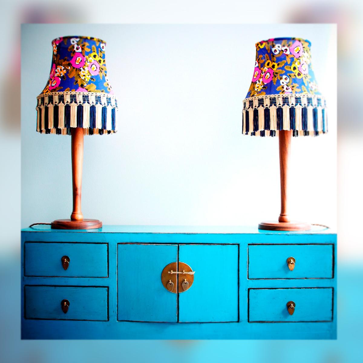 Vuelven las l mparas de nuestras abuelas decoraci n - Lamparas de decoracion ...