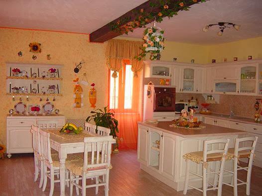 ilclanmariapia: stili a confronto - Cucina Soggiorno Stile Provenzale 2
