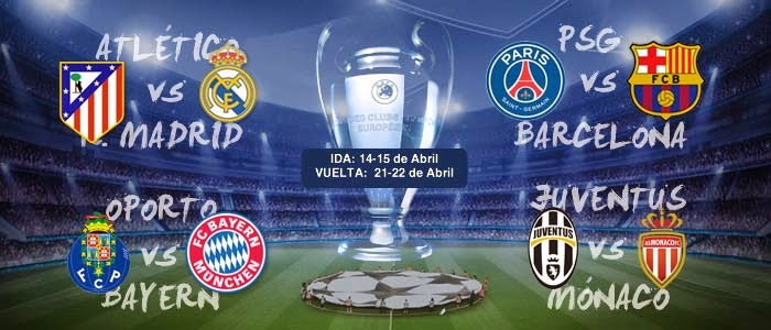 Champions League Q/Finals 2015