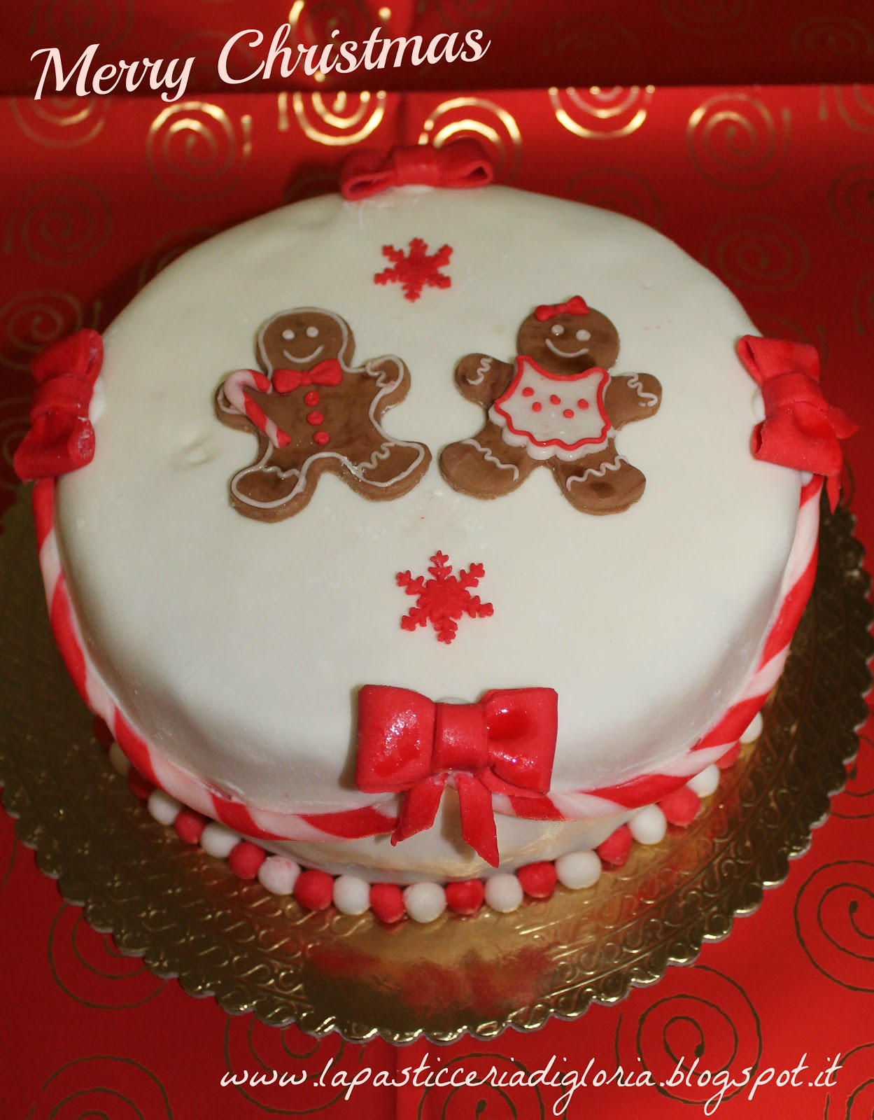 La pasticceria di gloria torte natalizie - Torte natalizie decorate ...