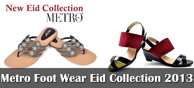 Metro Shoes Foot Wear Eid Collection 2013-2014