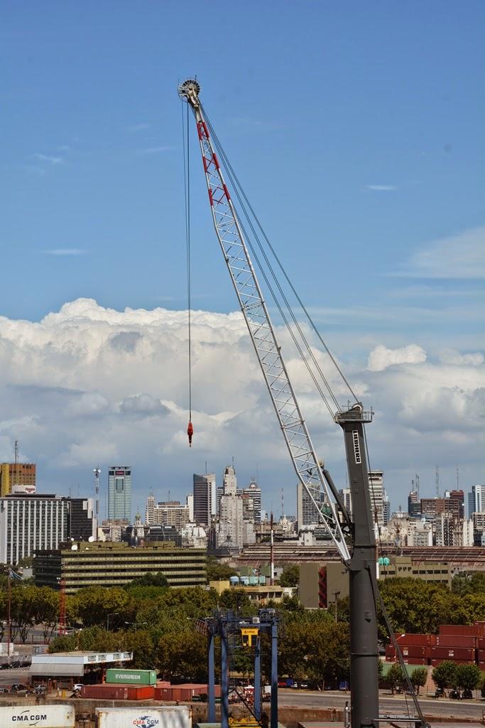 Port of Buenos Aires crane
