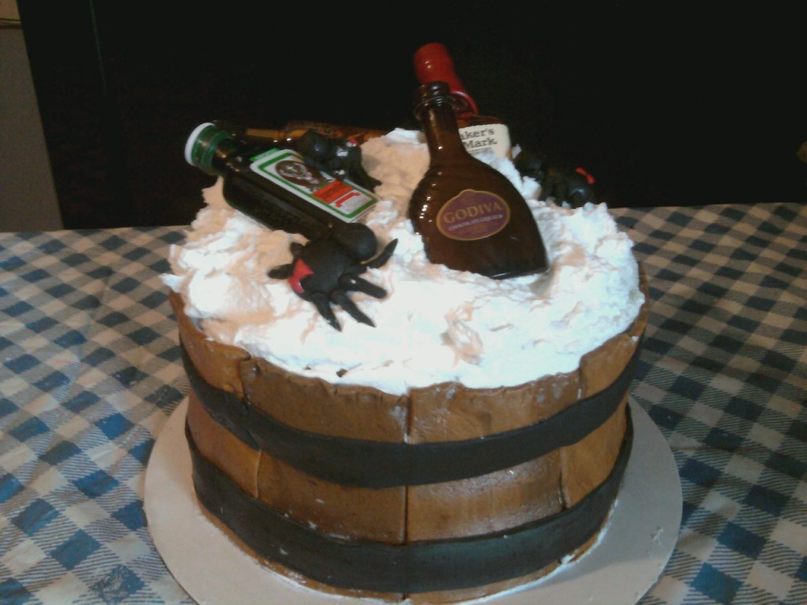 Yaya Creations 3 Barrel Cake