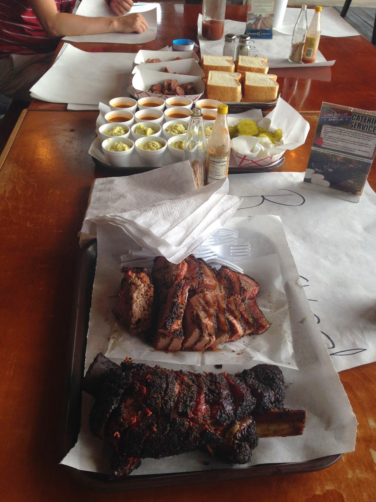 man up tales of texas bbq tour stoppin u0027 at louie mueller