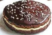 Kek Coklat Lapis Berkeju (Kukus)