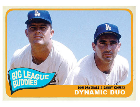 1965 Topps Combo Card: Dynamic Duo