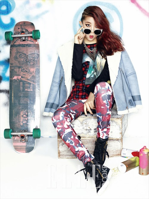 Sohyun 4minute - Elle Magazine December Issue 2013