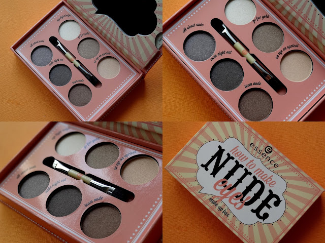 Essence How To Make Nude Eyes Palette Review, Photos, Swatches