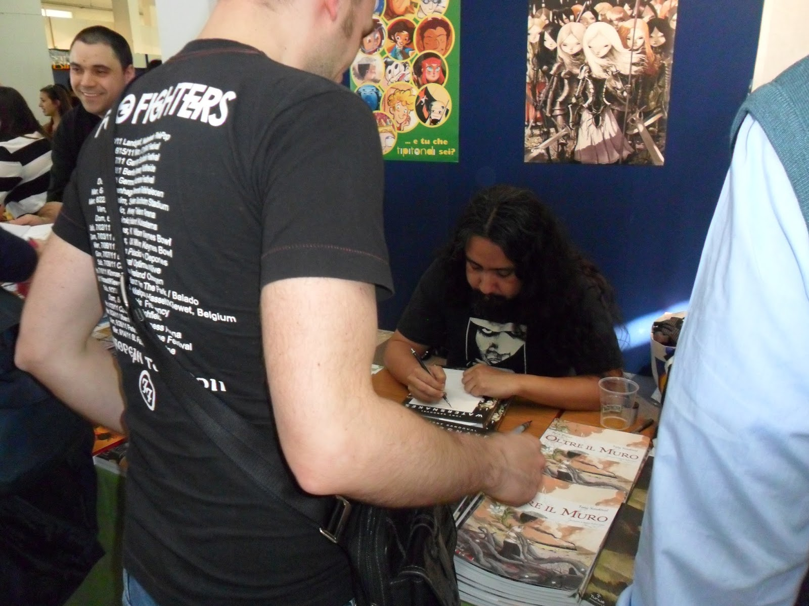 tony-sandoval-comicon-napoli-2014-fumetto-cinema-foto