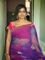 Actress Jayavani Hot photos in saree-cover-photo
