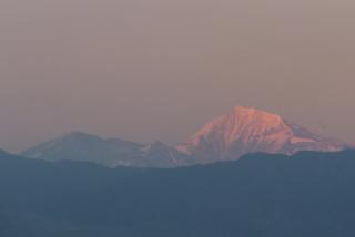 Mendoza views Aconcagua from Lujan De Cuyo (Ruca Malen Bodega)