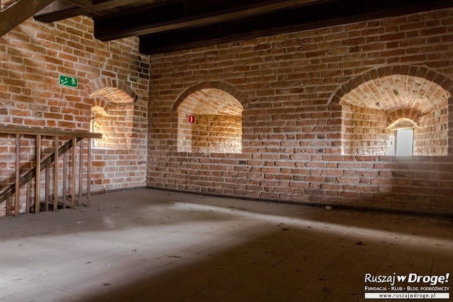 Frombork - w środku Wieży Kopernika