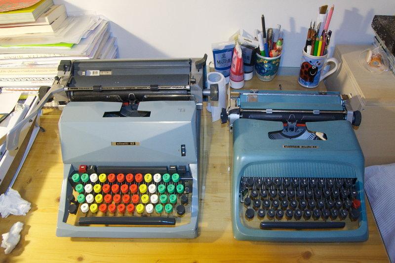 2012 05 14 - olivetti 82 diaspron & olivetti studio 44