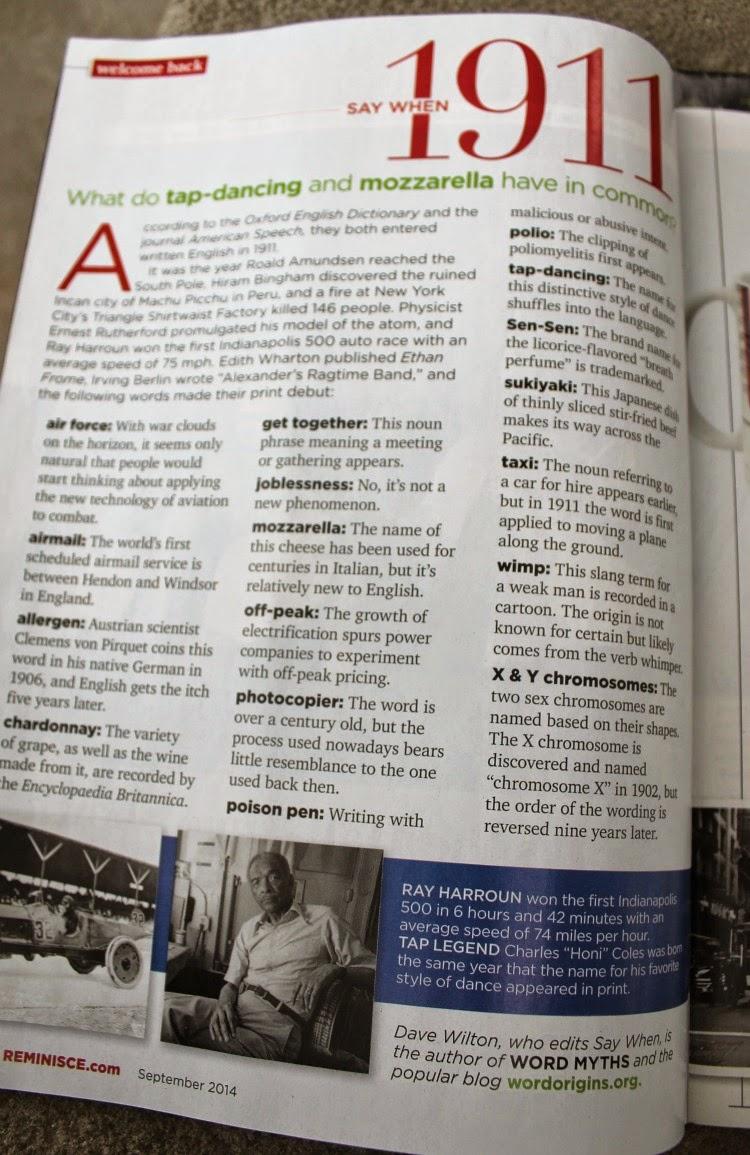 Reminisce Magazine