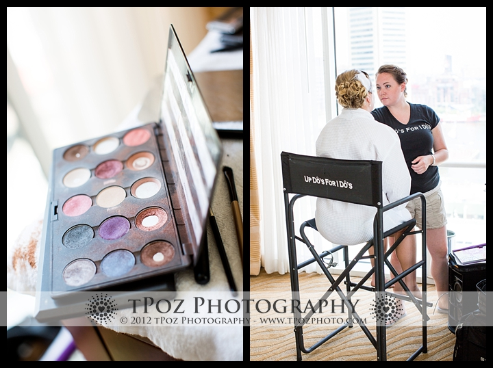 wedding makeup by Up Do