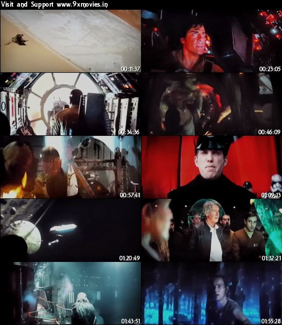 Star Wars The Force Awakens 2015 English HDTS 950MB