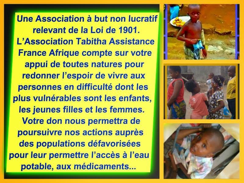 Association tabitha assistance france afrique aimer c - Donner ses meubles a une association ...
