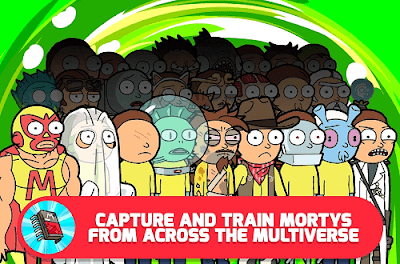 Pocket Mortys v1.0.5 Mod Apk (Unlimited Money) 2