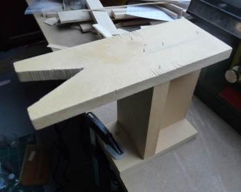 Mon tout petit monde outils de base pour le travail du bois - Support pour couper du bois ...