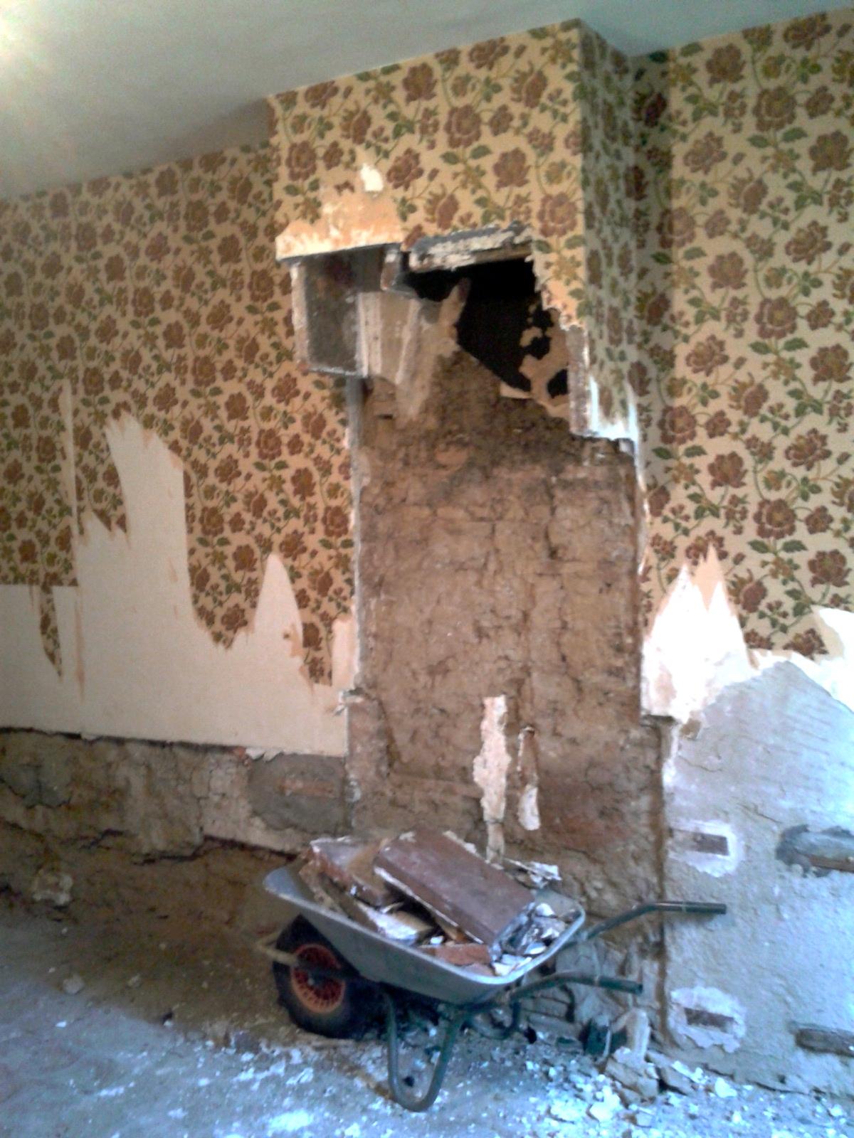 La maison de saint martin - Demonter une cheminee ...