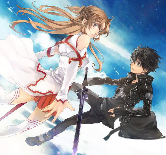 Sword Art Online Kirito Asuna 0012