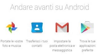 trasferire dati su Android