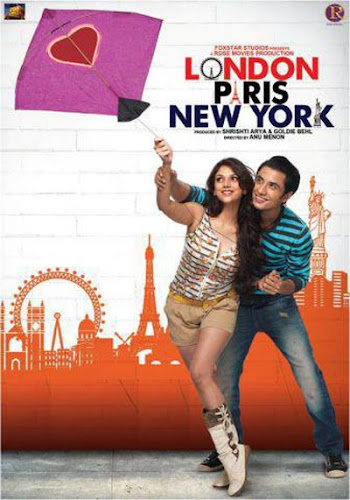 London, Paris, New York (2012) Movie Poster