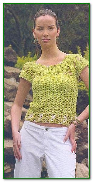 Блузки На Лето Вязанные Крючком